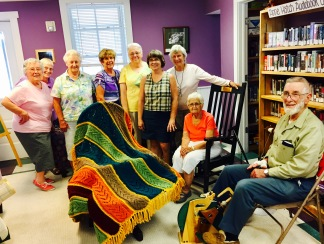 Crafts and conversation group-Afghan Raffle