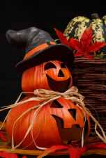 holiday autumn orange face